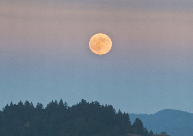 King Ridge Sept 8 Full Harvest Moon blog