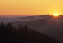 Sunrise Sonoma Ridges